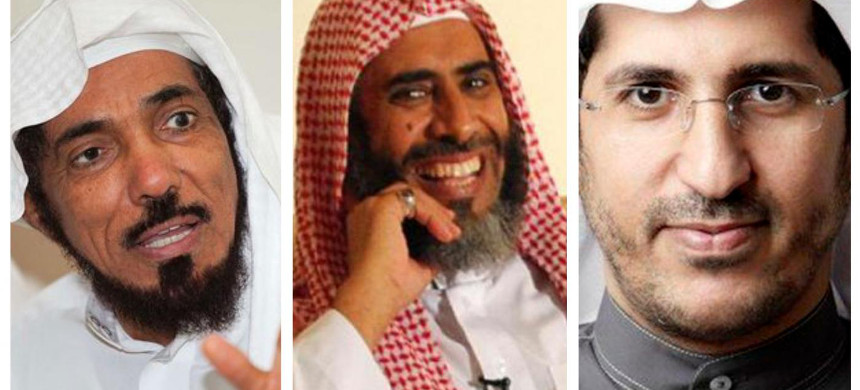 Salman al-Odah, Awad al-Qarni and Ali al-Omari are all set to be executed after Ramadan. (photo: Twitter)