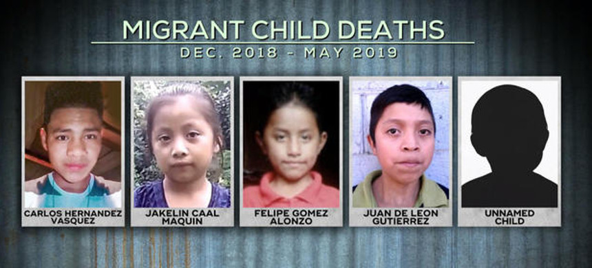 Six immigrant children have died in U.S. government custody, or shortly after leaving U.S. custody, in the last six months. (photo: CBS News)