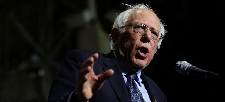 Sen. Bernie Sanders. (photo: Joshua Lott/Reuters)