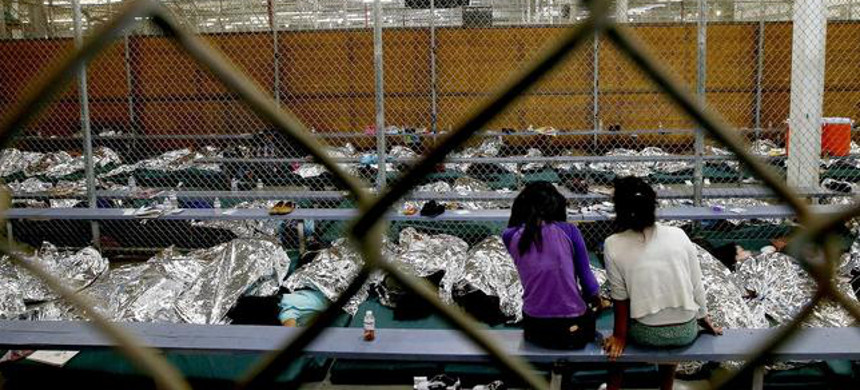 Immigration detention facility. (photo: Getty)