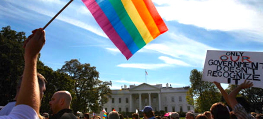 The news comes as pride celebrations are set to take place in Washington, D.C. over the weekend. (photo: Project Q)