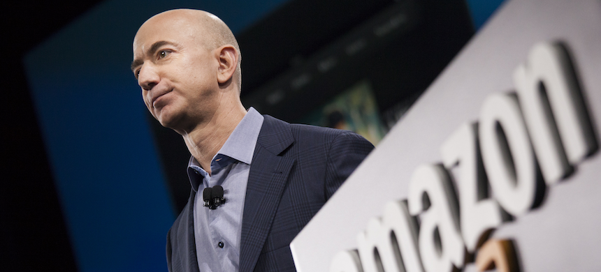 Billionaire Jeff Bezos. (photo: David Ryder/Getty Images)