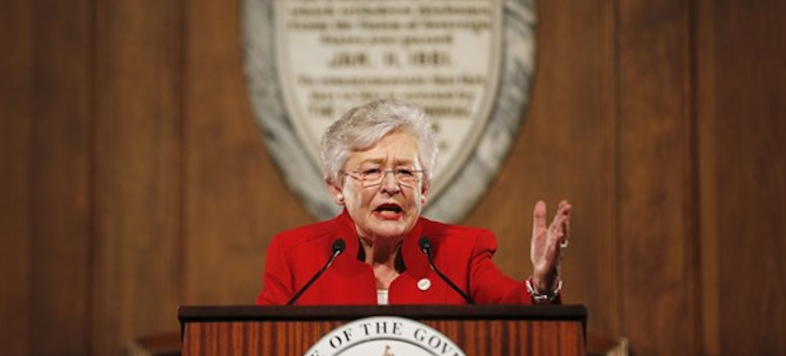 Govenor Kay Ivey of Alabama. (photo: Brynn Anderson/AP)