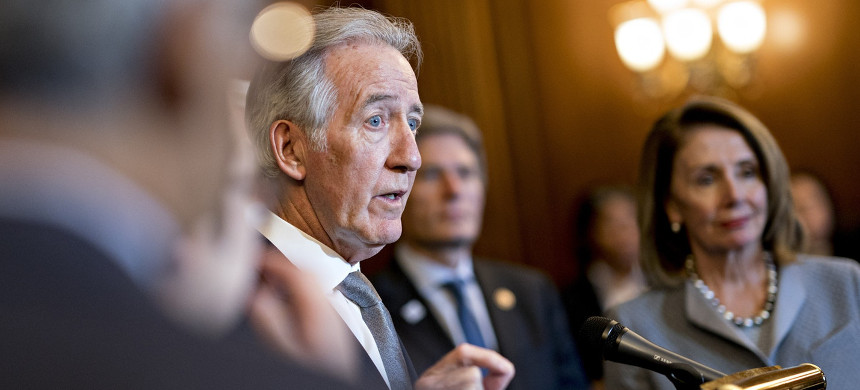 Rep. Richard Neal speaks at a news conference on health care legislation at the U.S. Capitol in Washington, D.C., March 26, 2019. (photo: Andrew Harrer/Getty)