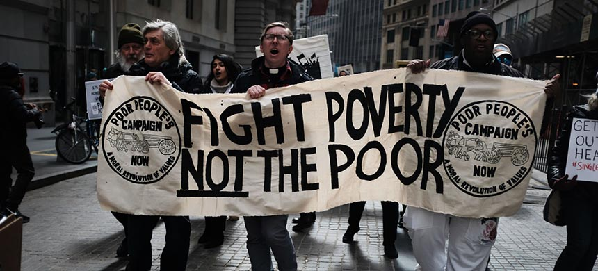 Poor People's Campaign March. (photo: Spencer Platt/Getty Images)