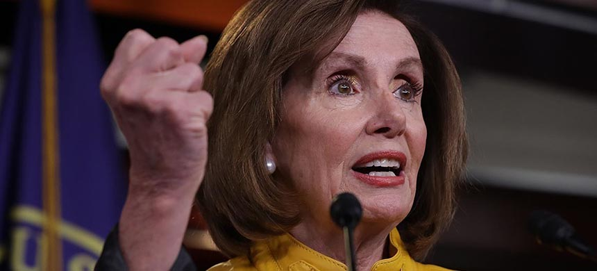 Nancy Pelosi. (photo: Chip Somodevilla/Getty Images)