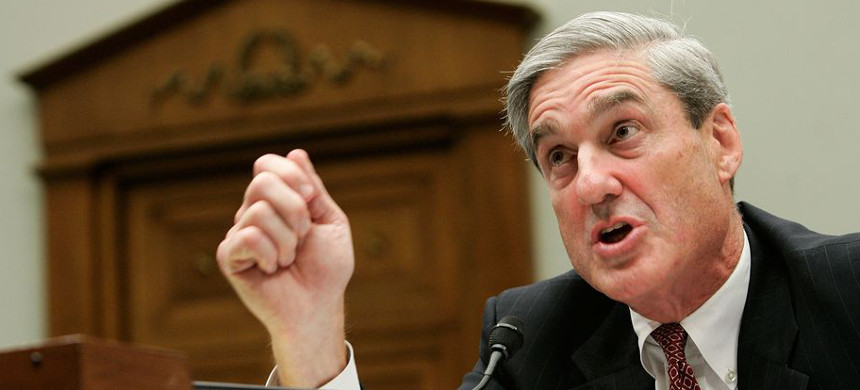 Special counsel Robert Mueller testifies during a hearing before the House Judiciary Committee July 26, 2007, when he was FBI director. (photo: Alex Wong/Getty)