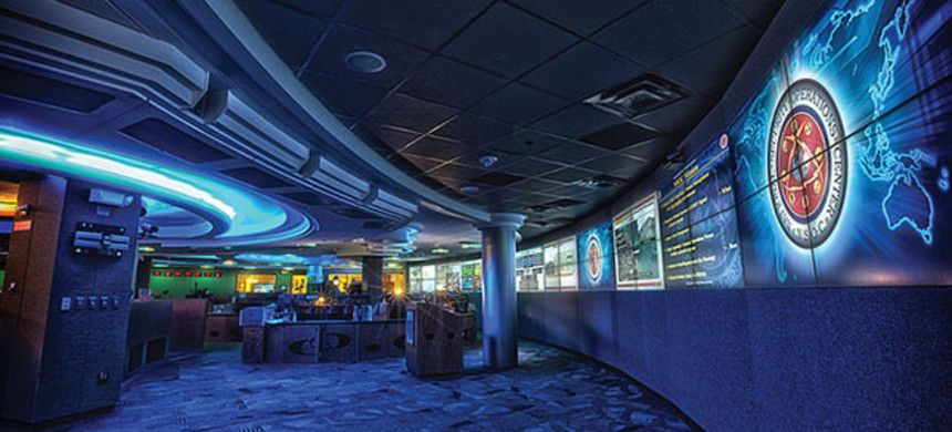 NSA operations center in 2012. (photo: NSA)