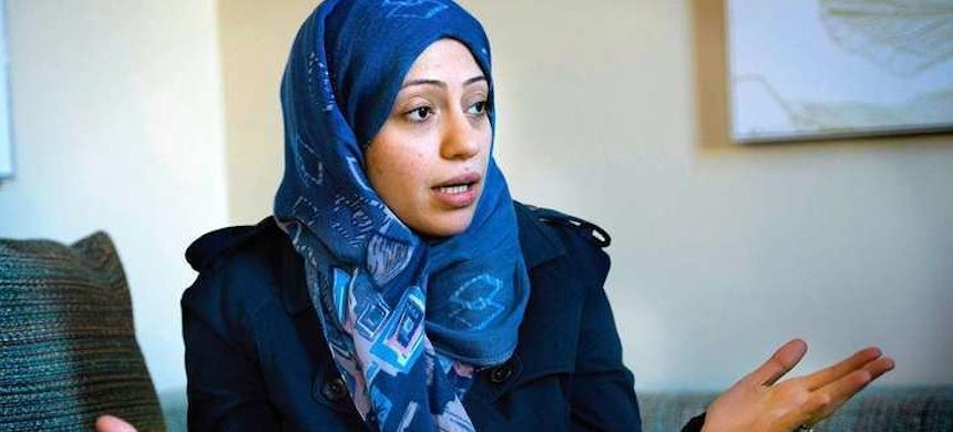 Samar Badawi was arrested last July. (photo: Alchetron)