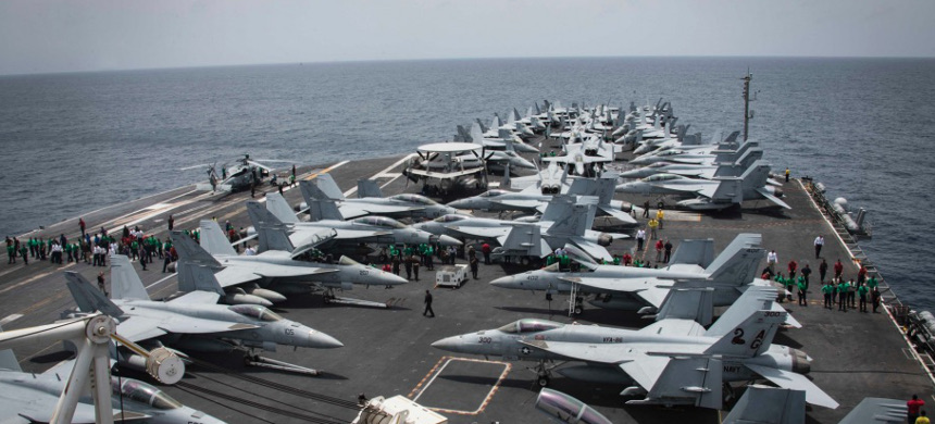 U.S. aircraft carrier. (photo: Getty)