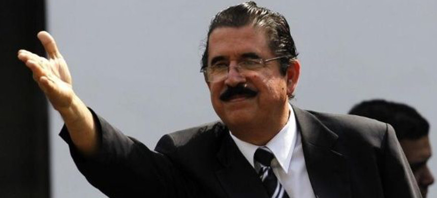 Former president of Honduras Manuel Zelaya. (photo: Reuters)