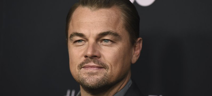 Leonardo DiCaprio at the premiere of 'Ice on Fire' in Los Angeles. (photo: Jordan Strauss/AP)