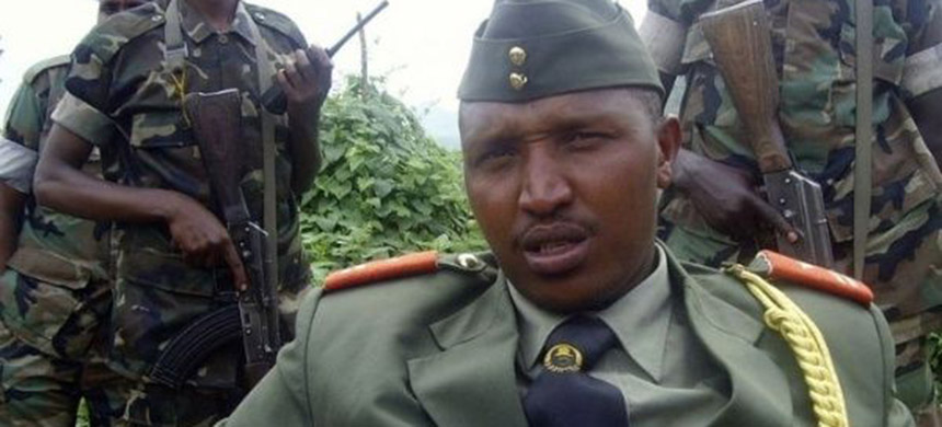Bosco Ntaganda, leader of the devastating DRC insurgency, was reportedly in 'constant contact' with senior Rwandan military figures. (photo: Reuters)