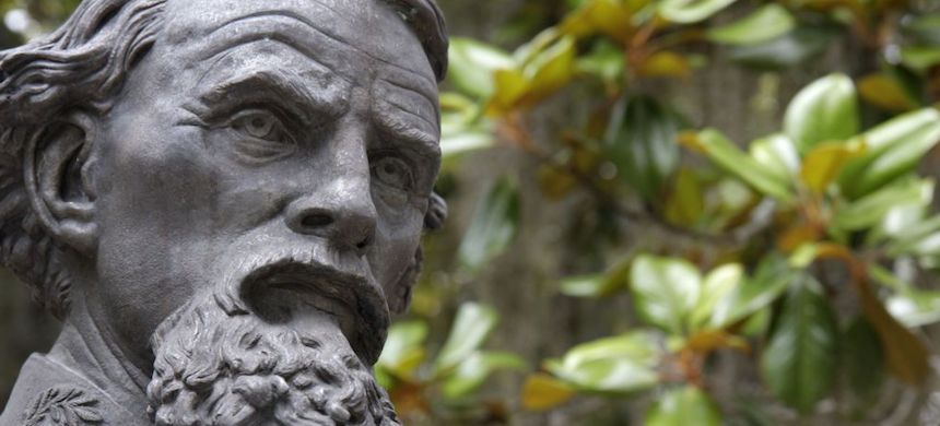 A bust of Nathan Bedford Forrest. (photo: Jeffrey Greenberg/Getty Images)