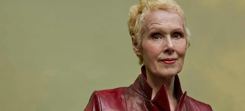 E Jean Carroll: 'I thought there might be a little brouhaha, but that was it. I didn't think it through.' (photo: Chris Buck/Guardian UK)