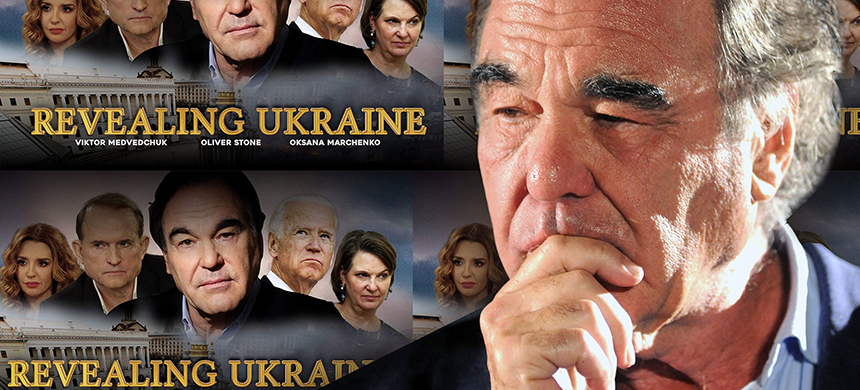 Oliver Stone. (photo: The Daily Beast/Getty Images/RevealingUkraine.com)