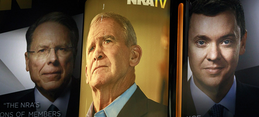 The NRA's fortunes go from bad to much, much worse. (photo: Sopa Images/Getty Images)