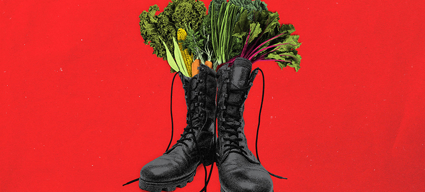 'The farmers' market face-off is not the first of its kind.' (image: Daily Beast)