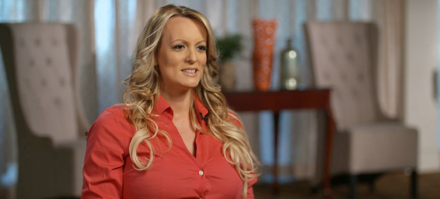 Stormy Daniels interview with Anderson Cooper. (photo: Getty)