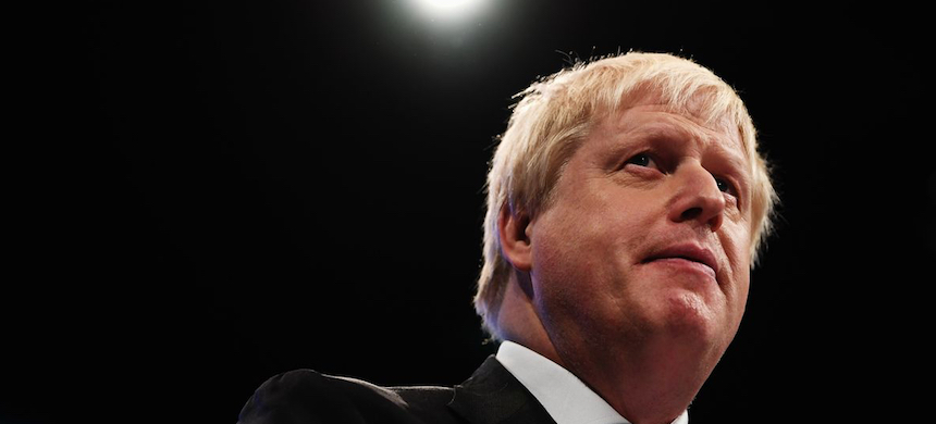 Boris Johnson. (photo: Carl Court/Getty Images)