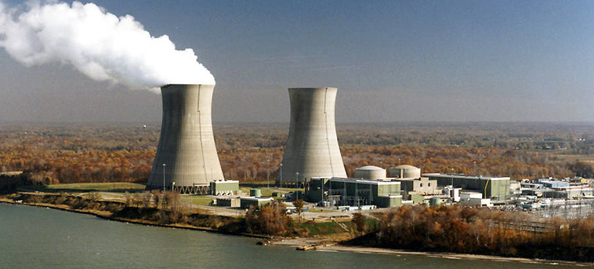 The Perry Nuclear Power plant outside of Cleveland. (photo: FirstEnergy)