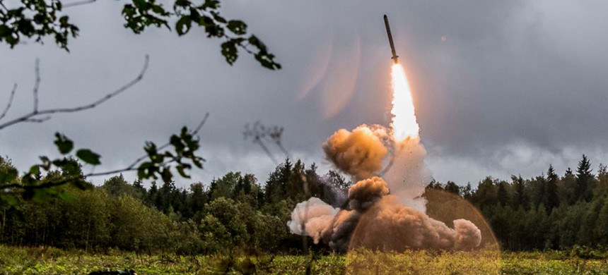 U.S. and NATO officials have repeatedly accused Russia of developing weapons systems that they say are a violation of the INF treaty, which bans the use of intermediate-range missiles. (photo: RFE)