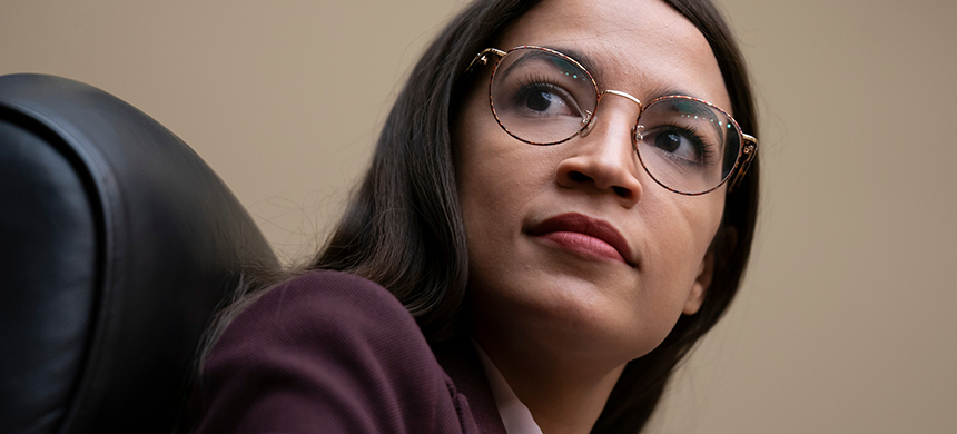 Representative Alexandria Ocasio-Cortez. (photo: AP)