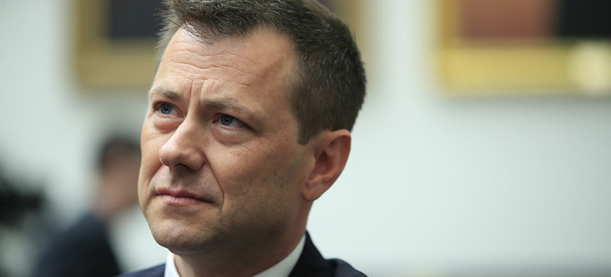 Peter Strzok's lawsuit will likely reignite a long-running debate over his actions and potential FBI bias. (photo: Manuel Balce Ceneta/AP)