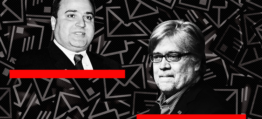 George Nader and Steve Bannon.  (image: Lyne Lucien/The Daily Beast/Getty Images)