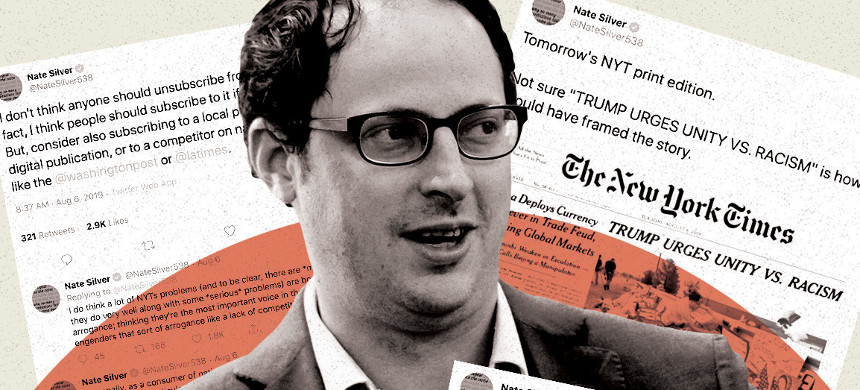 Former New York Times data guru Nate Silver. (photo: Getty)