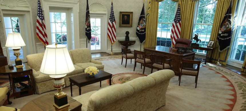 The oval office. (photo: Alex Wong/Getty Images)