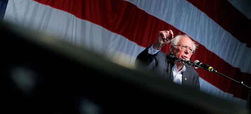 Sen. Bernie Sanders. (photo: John Locker/AP)