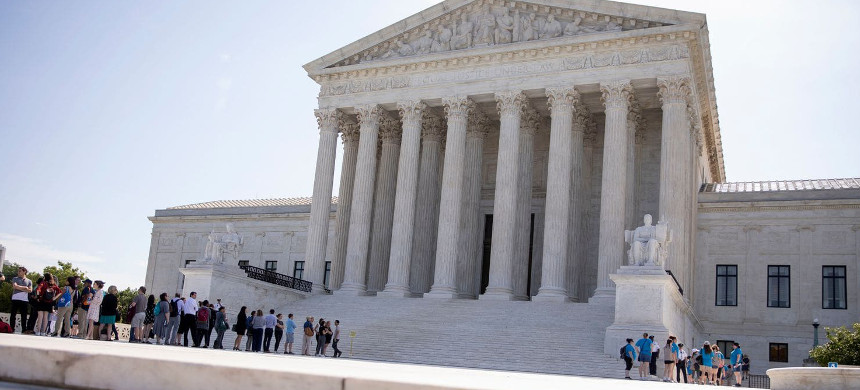Supreme Court building. (photo: Getty)