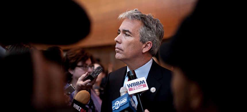 Joe Walsh, a conservative radio show host and a former Tea Party congressman, in 2011. (photo: Peter Hoffman)