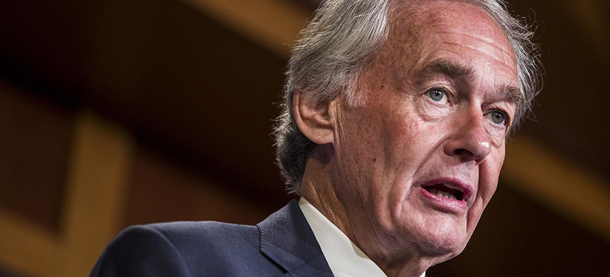 Massachusetts senator Ed Markey. (photo: Zach Gibson/Getty Images)
