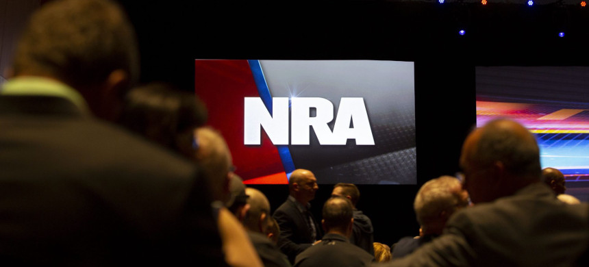 National Rifle Association convention. (photo: Getty)