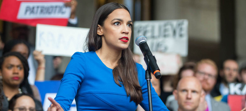 Rep. Alexandria Ocasio-Cortez. (photo: Tawni Bannister/Hollywood Reporter)