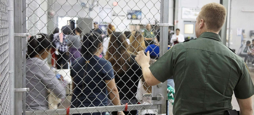 An immigrant detention center. (photo: ABC)