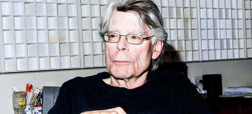 Stephen King chatted with us about his new horror novel 'The Institute,' the 'nightmare' of Donald Trump, and why he loves 'Stranger Things.' (photo: Krista Schlueter/NYT/Redux)