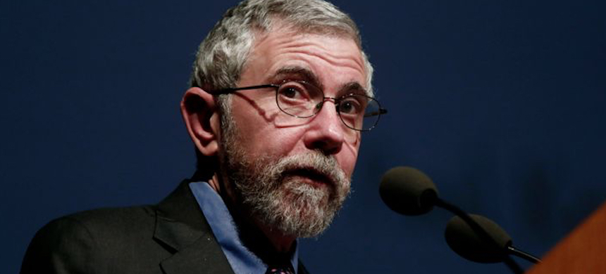 Economist Paul Krugman. (photo: Nurphoto/Getty Images)