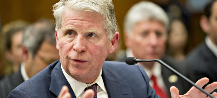 Cyrus Vance Jr., Manhattan district attorney, speaks during a House Judiciary Committee hearing in Washington, D.C. (photo: Andrew Harrer/Bloomberg/Getty Images)