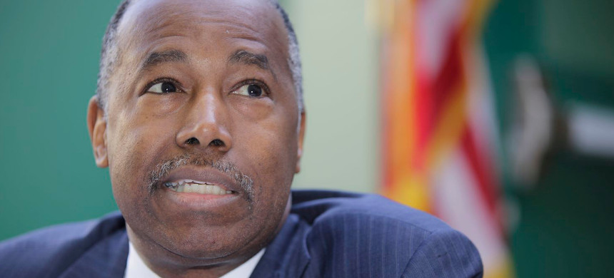 U.S. Department of Housing and Urban Development secretary Ben Carson. (photo: Damian Dovarganes/Getty)