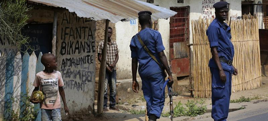 Burundi has been engulfed by violence since a controversial 2015 election. (photo: Jerome Delay/AP)