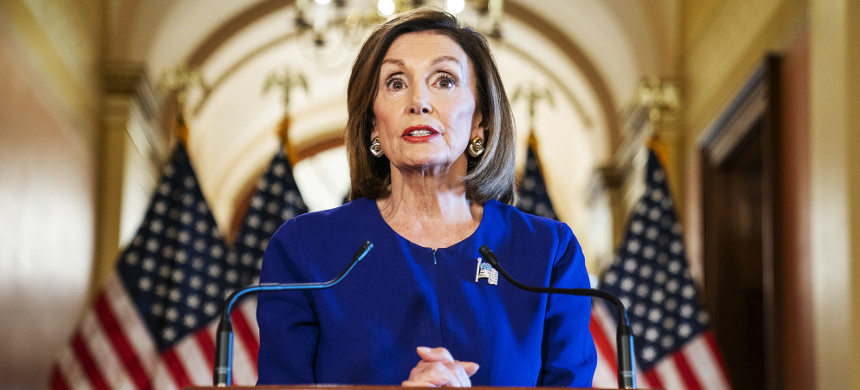 Speaker Nancy Pelosi. (photo: Jim Lo Scalzo/Getty)