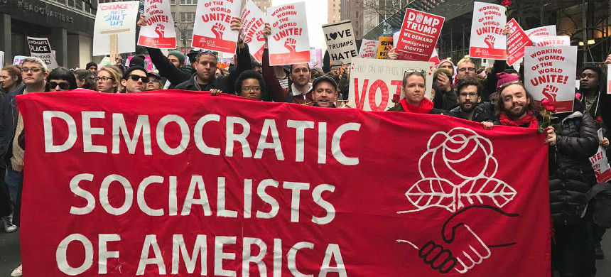 Democratic socialists of America. (photo: Getty)