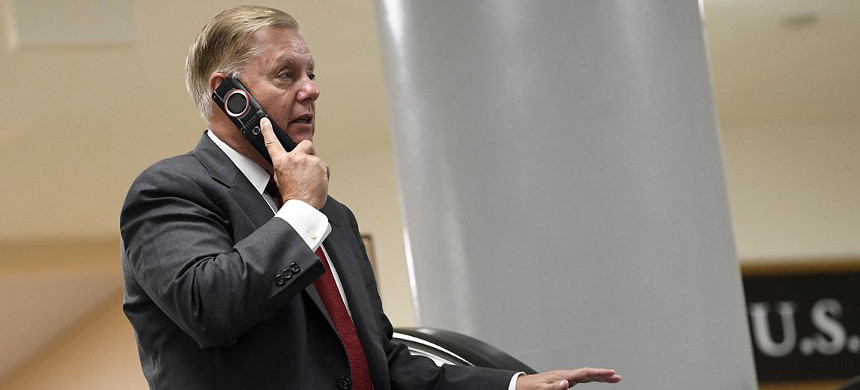 Republican Sen. Lindsey Graham. (photo: Getty)