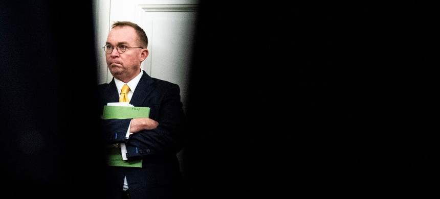 Acting White House chief of staff Mick Mulvaney. (photo: Jabin Botsford/The Washington Post)
