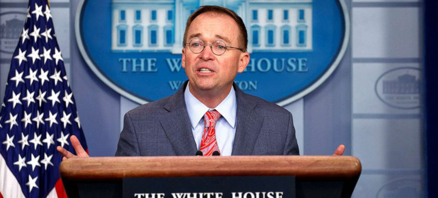 White House Acting Chief of Staff Mick Mulvaney. (photo: ABC)