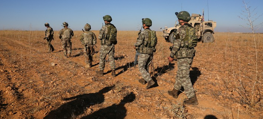 U.S. ground forces in Syria. (photo: U.S. Army/Reuters)