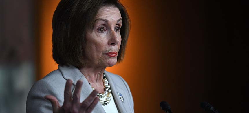 House Speaker Nancy Pelosi (D-Calif.) visited Jordan this weekend. (photo: Matt McClain/WP)